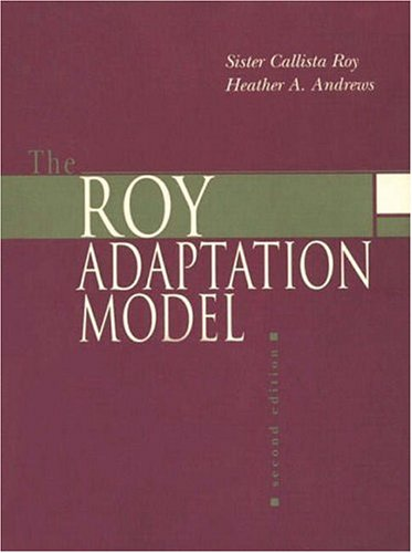 9780838582480: The Roy Adaptation Model