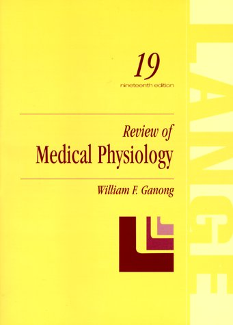 9780838582527: Review of Medical Physiology (A Lange medical book)