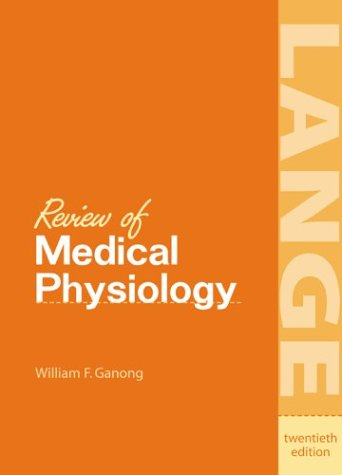9780838582824: Review of Medical Physiology (A Lange Medical Book)
