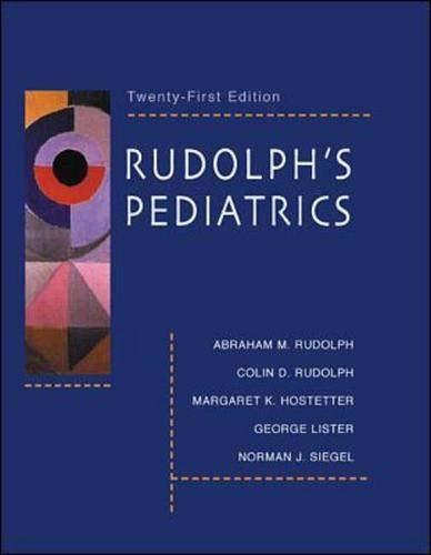 9780838582855: Rudolph's Pediatrics