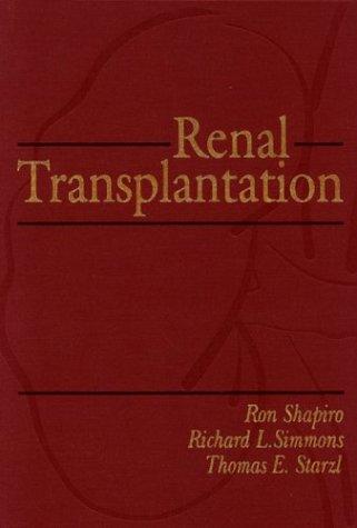 9780838583838: Renal Transplantation