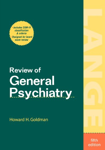9780838584347: Review of General Psychiatry, 5th edition
