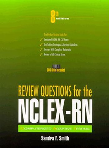 Review Questions for NCLEX-RN (Book with Diskette) (9780838584446) by Sandra F. Smith