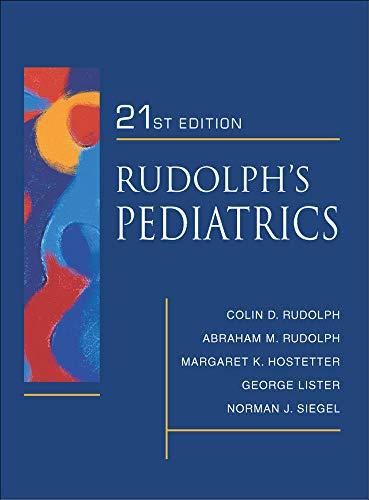 9780838584507: Rudolph's Fundamentals of Pediatrics: Third Edition