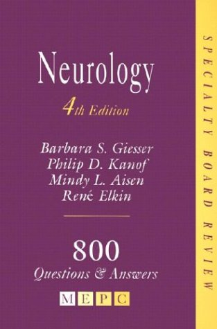 9780838586501: MEPC: Neurology: Specialty Board Review