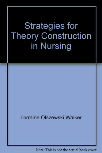 9780838586808: Strategies for Theory Construction in Nursing