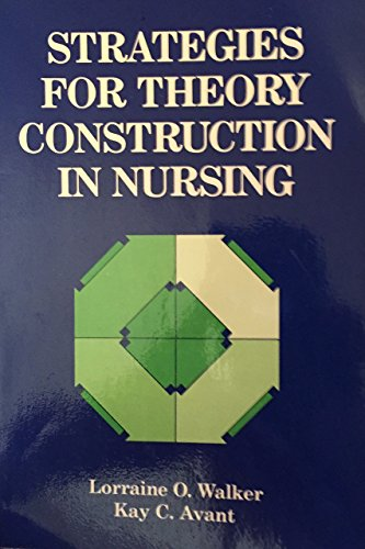 9780838586860: Strategies for Theory Construction in Nursing