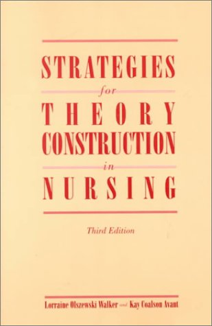 9780838586884: Strategies for Theory Construction in Nursing