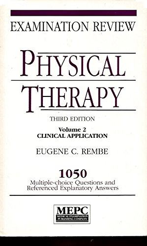 9780838589335: 002: Physical Therapy: Examination Review : 1050 Multiple Choice Questions and Referenced Explanatory Answers