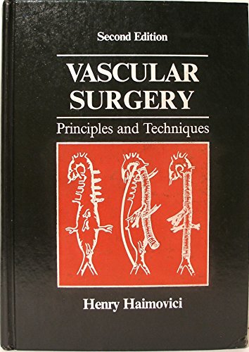 9780838593813: Vascular Surgery: Principles and Techniques