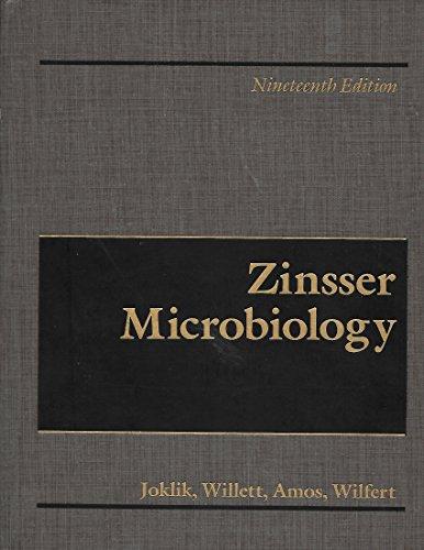 Zinsser Microbiology: Zinsser, Hans, Joklik,