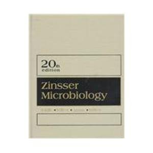 9780838599839: Zinsser's Microbiology
