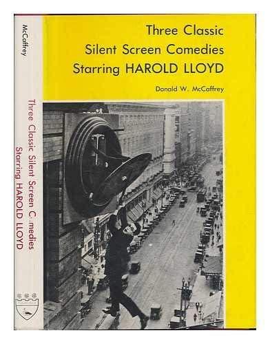 9780838614556: Three Classic Silent Screen Comedies Starring Harold Lloyd