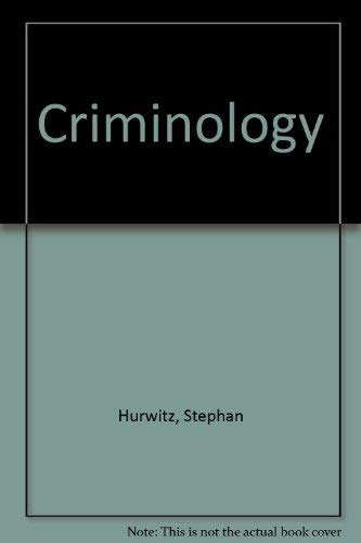 9780838614778: Criminology