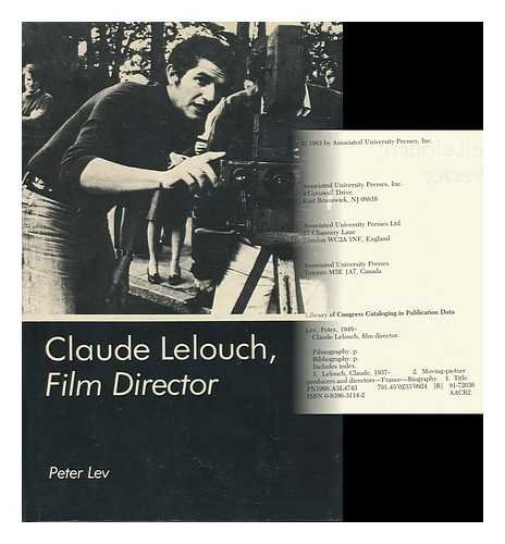 9780838631140: Claude Lelouch, Film Director