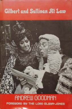9780838631799: Gilbert and Sullivan at Law
