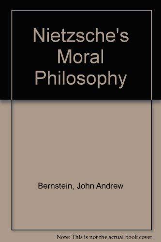 9780838632833: Nietzsche's Moral Philosophy