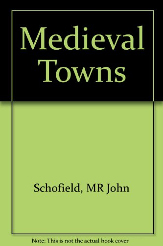 9780838636220: Medieval Towns