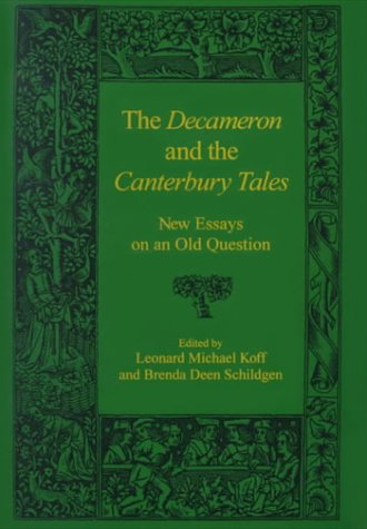 9780838638002: The Decameron and the Canterbury Tales: New Essays on an Old Question