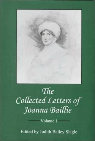 9780838638125: The Collected Letters of Joanna Baillie