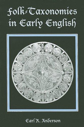 9780838639160: Folk-Taxonomies in Early English