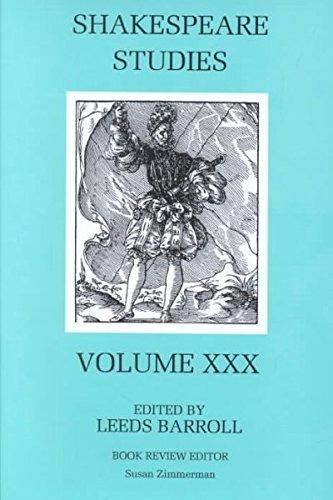 9780838639627: 30: Shakespeare Studies