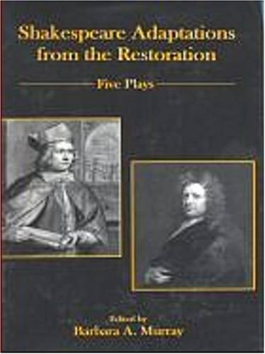 Shakespeare Adaptations From The Restoration: Five Plays