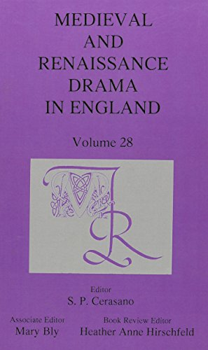 9780838644782: Medieval and Renaissance Drama in England, Volume 28