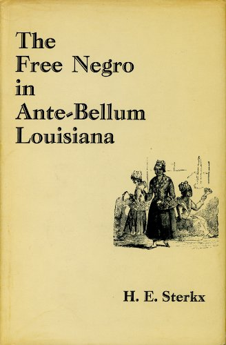 9780838678374: The Free Negro in Ante-Bellum Louisiana