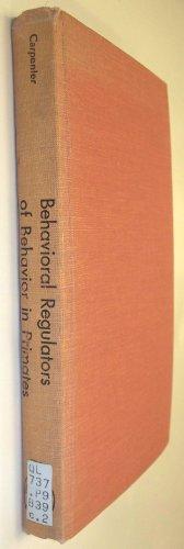 9780838710999: Behavioral Regulators of Behavior in Primates (The Primates)