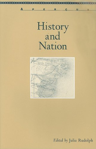 9780838756409: History And Nation (Apercus: Histories Texts Cultures; a Bucknell Series)
