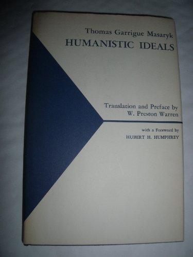 9780838776643: Humanistic Ideals