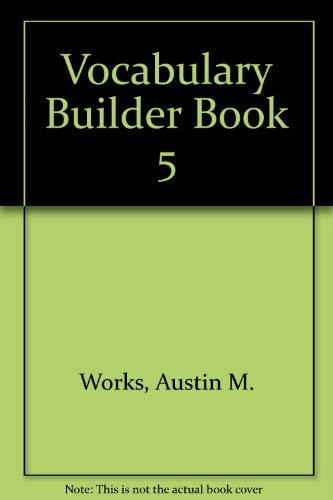 9780838800058: Vocabulary Builder Book 5