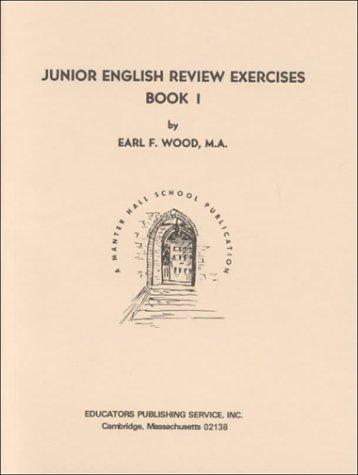 9780838800324: Junior English Review Exercises, Book 1: Grade 11