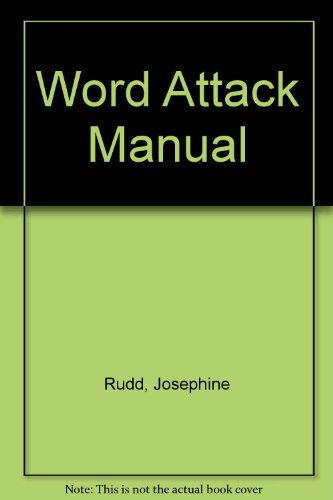 9780838801017: Word Attack Manual