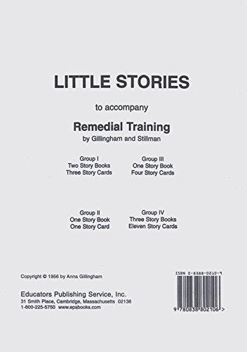 9780838802106: Little Stories
