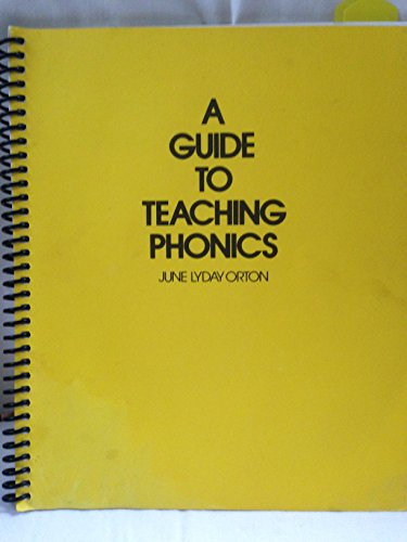 9780838802410: A Guide to Teaching Phonics