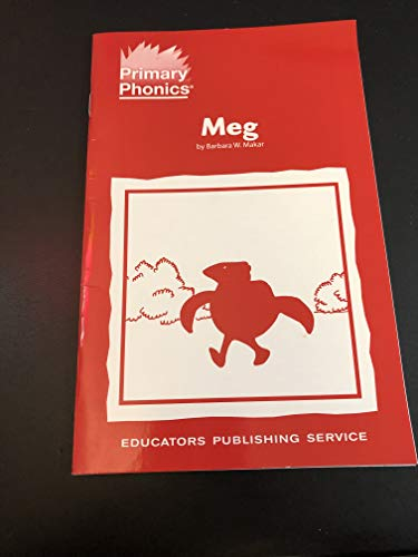 9780838803684: Braille: Primary Phonics: Meg: Set 1 Book 8: