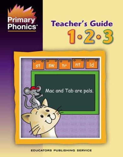 9780838803714: Primary Phonics Teacher's Guide, Grades 1, 2, 3