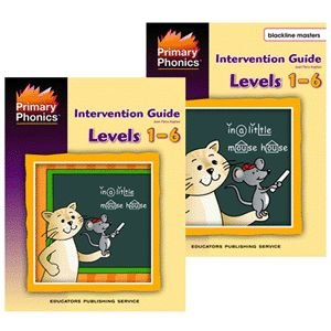 9780838803738: Primary Phonics Intervention Guide Levels 1-6 (Levels 1-6)