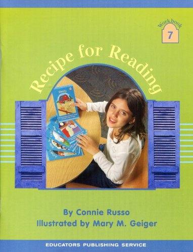 9780838804971: Recipe For Reading, Workbook 7