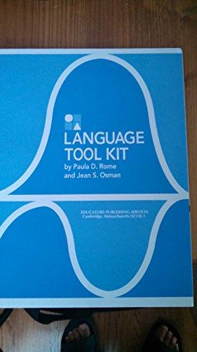 9780838805213: Language Tool Kit - Manual Only