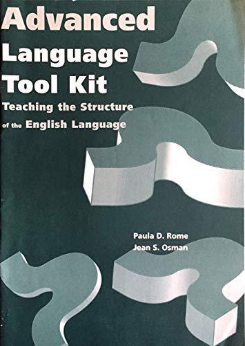 9780838805497: Advanced Language Toolkit Manual