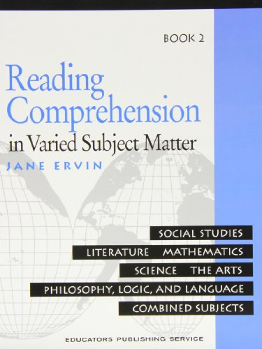 9780838806012: Reading Comprehension in Varied Subject Matter: Social Studies, Literature, Mathematics, Scienc, The Arts, Philosopy, Logic, and Language Combined Subjects: Book 2