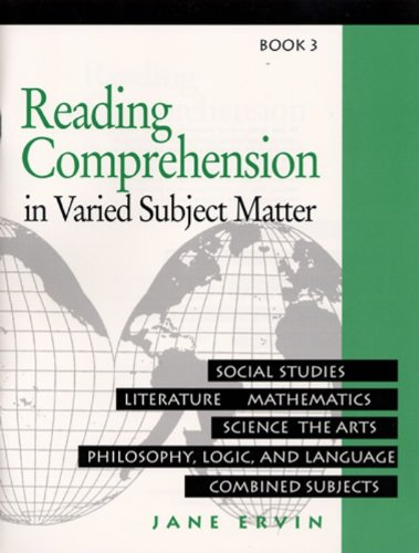 9780838806029: Reading Comprehension in Varied Subject Matter: Book 3