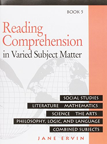 Reading Comprehesion: in Varied Subject Matter, Book 5 (083880604X) by Jane Ervin