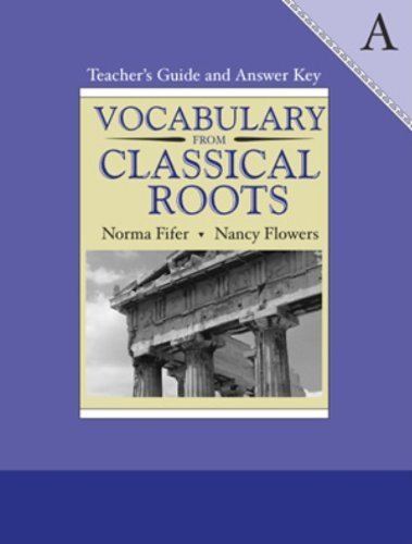 9780838808603: Vocabulary from Classical Roots a