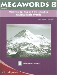 9780838809143: Megawords 8: Decoding, Spelling, and Understanding Multisyllabic Words: 8 Assimilated Prefixes