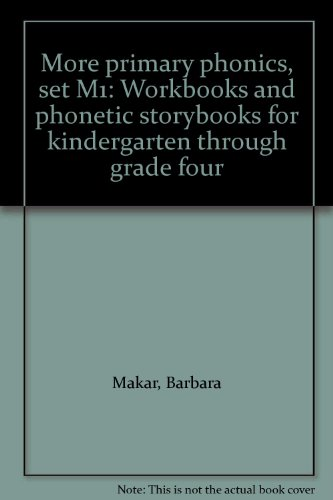 9780838815083: More primary phonics, set M1: Workbooks and phonetic storybooks for kindergarten through grade four