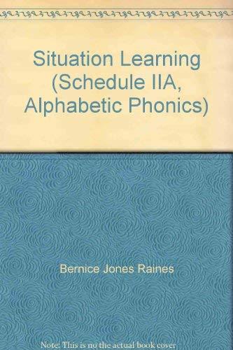 9780838816004: Situation Learning - Schedule Iia